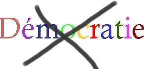 Démocratie niée