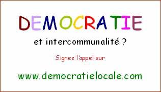Démocratie et intercommunalité