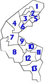 92 circonscriptions leg