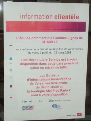 Chaville rive droite mars 2009